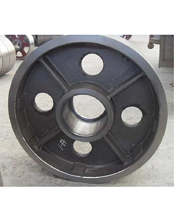 Elevator Sheave in Ductile Iron